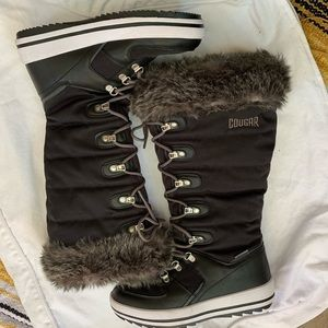 Cougar knee high snow boots